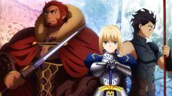 yande.re 211825 armor fate_stay_night fate_zero lancer_(fate_zero) rider_(fate_zero) saber sword