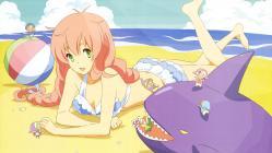 yande.re 219045 bikini jinrui_wa_suitai_shimashita swimsuits tagme watashi_(jinrui_wa_suitai_shimashita)