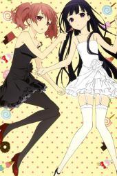 4yande.re 226377 dress inu_x_boku_ss kiyomaru_satoru pantyhose roromiya_karuta shirakiin_ririchiyo stockings thighhighs50