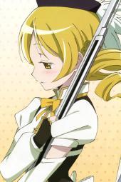 4aasyande.re 229015 akemi_homura kaname_madoka miki_sayaka pantyhose puella_magi_madoka_magica sakura_kyouko sumimoto_etsuko sword thighhighs tomoe_mami