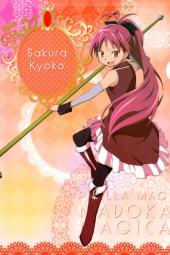 4yande.re 229855 puella_magi_madoka_magica sakura_kyouko thighhighs