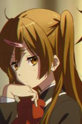 4ayande.re 229353 chuunibyou_demo_koi_ga_shitai! eyepatch ikeda_kazumi nibutani_shinka seifuku tagme takanashi_rikka togashi_yuuta