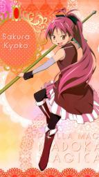 5yande.re 229855 puella_magi_madoka_magica sakura_kyouko thighhighs