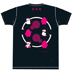 輪るピングドラム ペンギンTシャツ ディープネイビー サイズ:LL