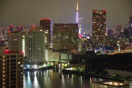 年明け東京タワー