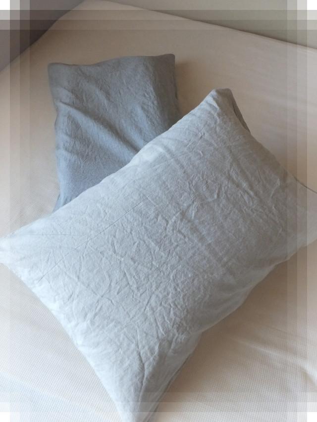 無印 枕カバー2