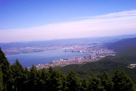 大津方面の眺望