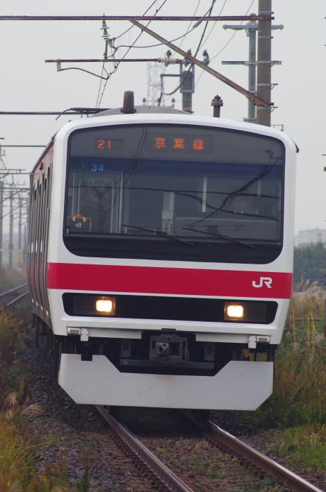 2013年11月18日 通勤快速 袖ヶ浦 007