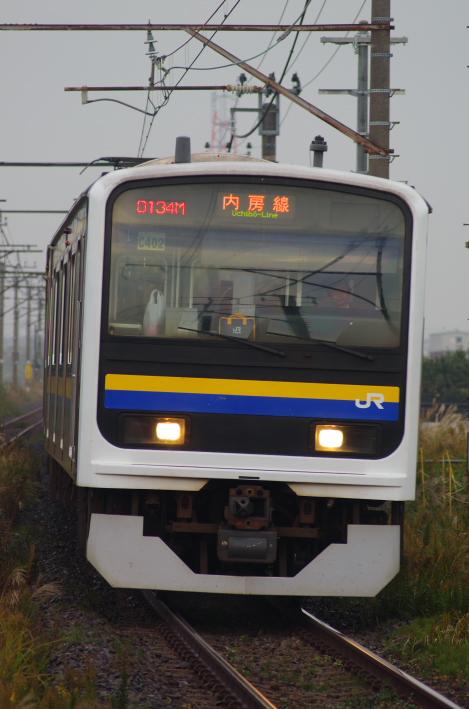 2013年11月18日 通勤快速 袖ヶ浦 003
