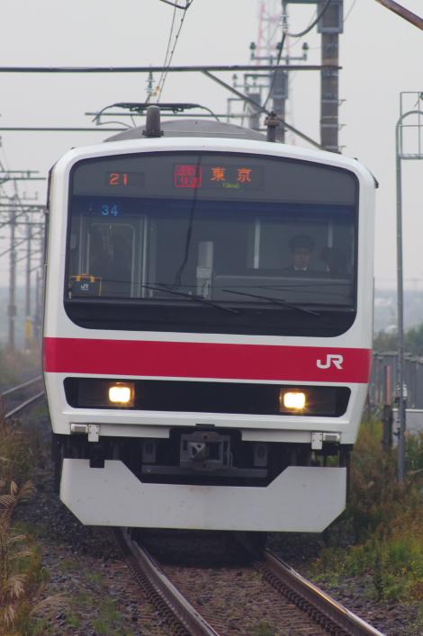 2013年11月18日 通勤快速 袖ヶ浦 004