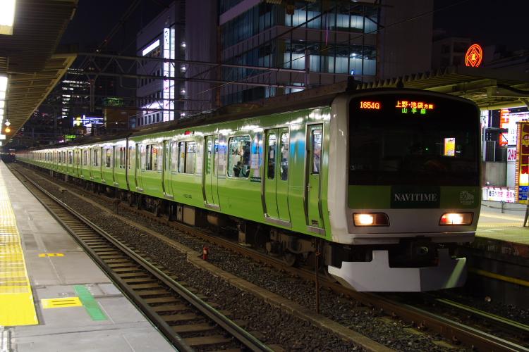 2013年12月06日 隅田川 211 緑E231 上野 ケヨ34 030