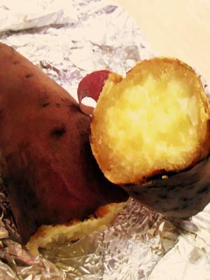 太陽礼拝 108回からの焼き芋