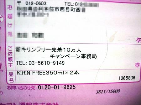 キリンフリー3056