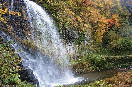 鹿角市 湯の又の滝02172
