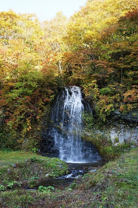鹿角市 湯の又の滝02182