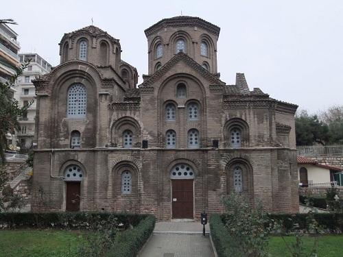 テサロニキ_パナギオ・ハルケオン教会 (2)