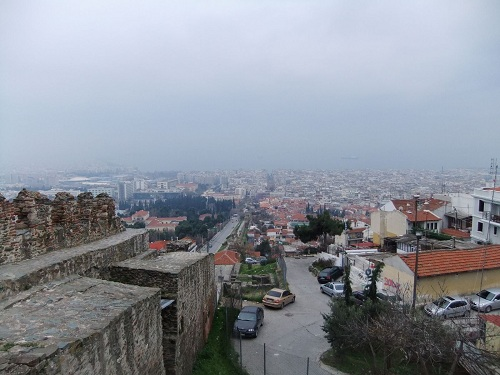 テサロニキ_城壁からの眺め