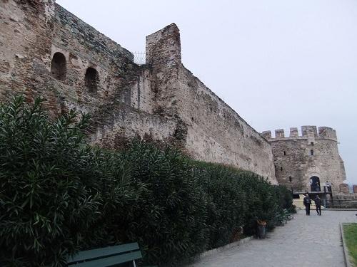 テサロニキ_ビザンティン城壁
