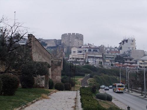テサロニキ_ビザンティン城壁 (2)