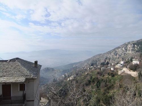 マクリニッツァからの眺め