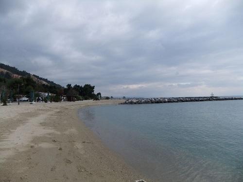 ヴォロスのビーチ