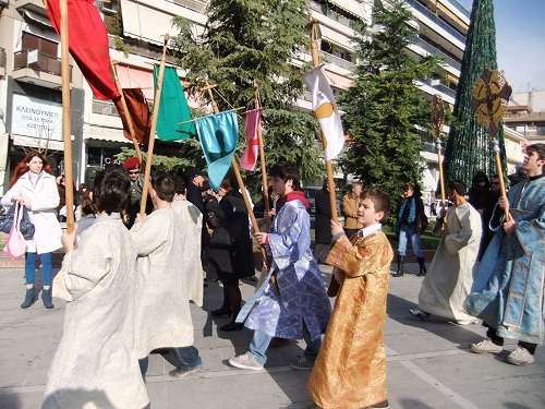主顕現祭パレード