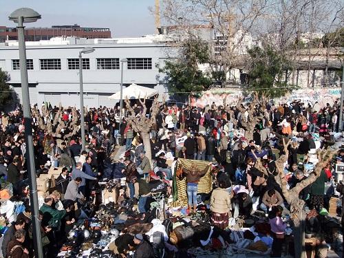 アテネのフリーマーケット
