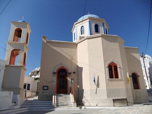 セリフォス_ホラ_エヴァンゲリストリア教会