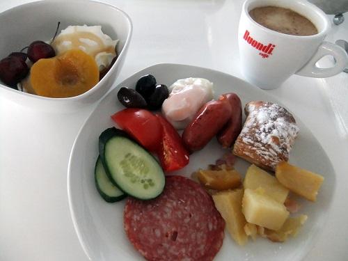 アテネ_ダイアモンドホテルの朝食