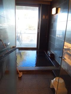 部屋のお風呂。