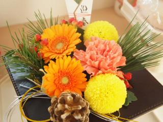 正月用のお花。