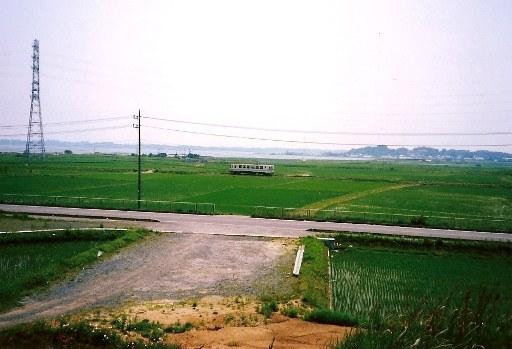 三昧塚古墳より見た風景