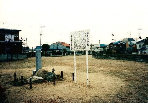 整備前の武蔵国分尼寺跡
