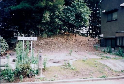 整備前の高倉塚古墳