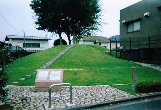 整備後の高倉塚古墳