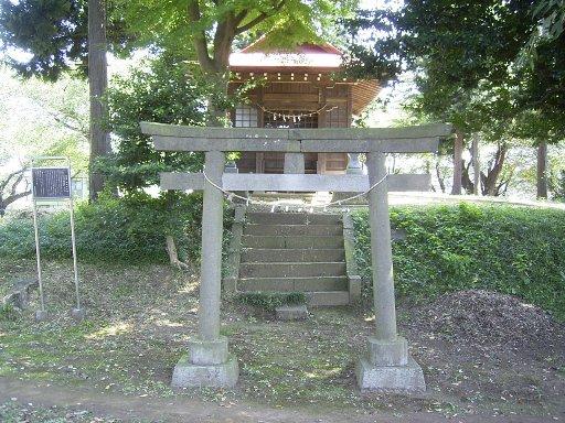百草稲荷塚古墳恋路稲荷神社
