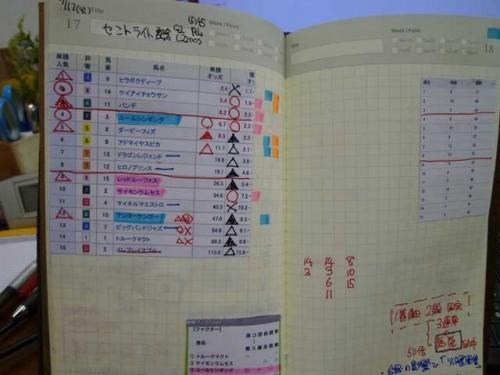 【2014年】は競馬ノートをつけようと思う