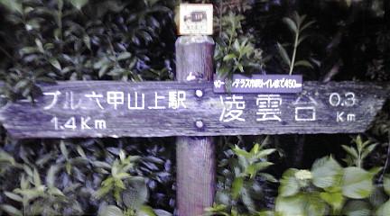 六甲縦走2011062020