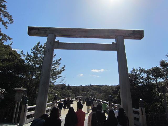 伊勢神宮の入り口
