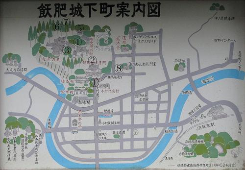 飫肥城地図