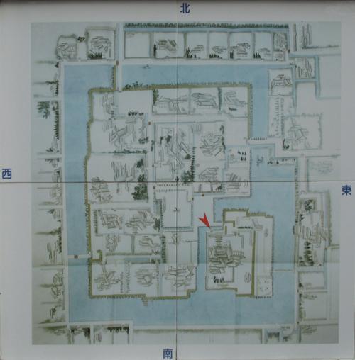 佐賀城古地図