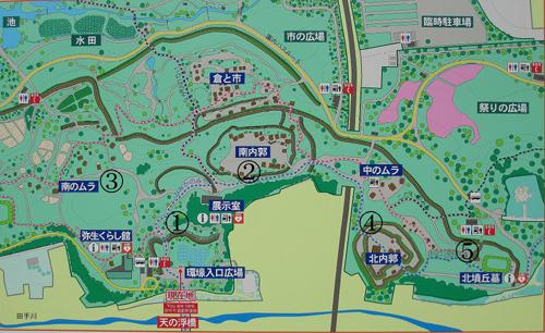 吉野ヶ里地図
