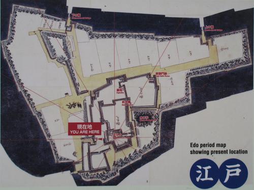 福岡城古地図