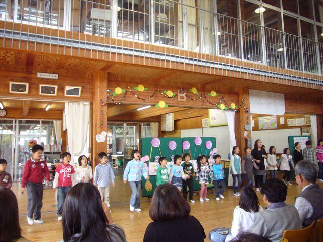 20110421-1年生を迎える会①