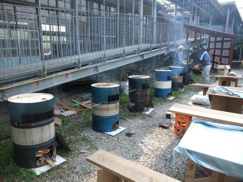 【写真】20110724-ドラム缶