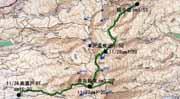 硫黄岳地図-1-1