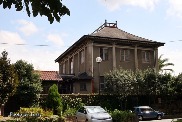旧ジョネス邸 西面