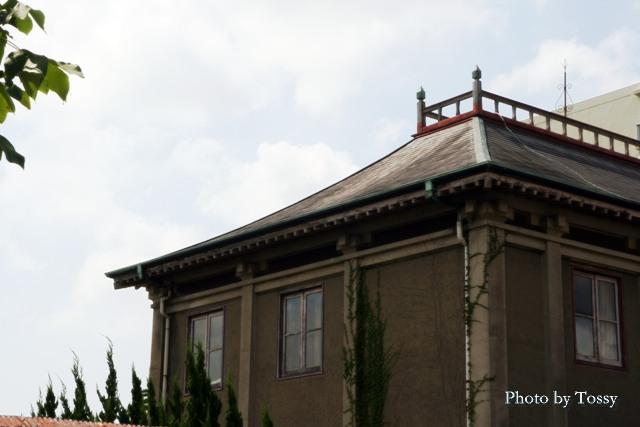 旧ジョネス邸 屋根