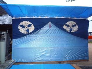 長谷寺大法会2011 出番を待つ詠歌場