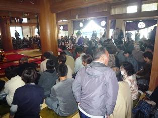 長谷寺大法会2011 過去帳諷誦